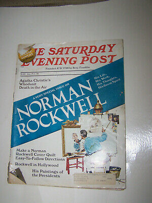 $ CDN15.26 • Buy Vintage Saturday Evening Post 1976/77/78 Norman Rockwell Santa/Special Issue/ 3