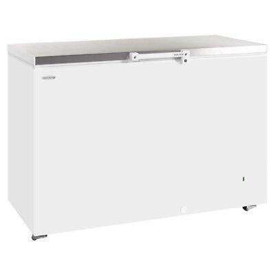 Tefcold Gm400s Stainless Steel Lid Catering Commercial Chest Freezer & Next Day • 600£