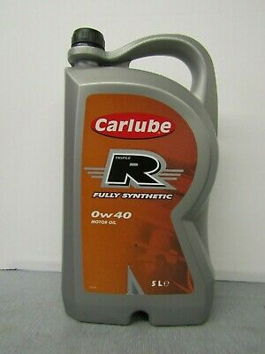 Carlube Triple R 0W-40 Fully Synthetic Petrol & Diesel Engine Motor Oil • 29.99£
