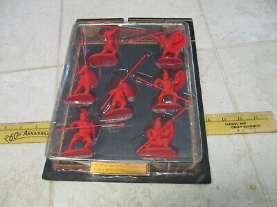 $44.95 • Buy New Conte 300 Spartans 1/32 54mm Plastic Army Men Figures Red Greeks Rare Set #7