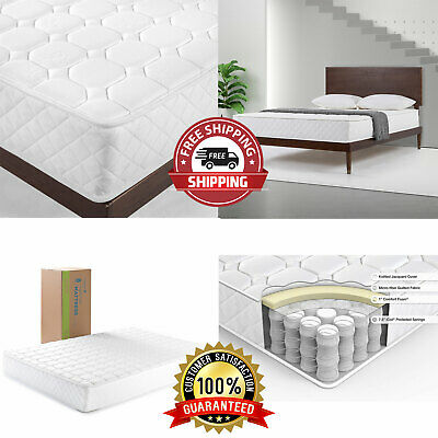 $ CDN184.13 • Buy 8 Inch Twin Size Mattress Luxury Adult Bedroom Coil Spring Back Pain Relief Bed