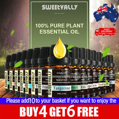 AU8.59 • Buy Essential Oil Oils 100% Pure Natural Aromatherapy Diffuser Set Aroma Purifier