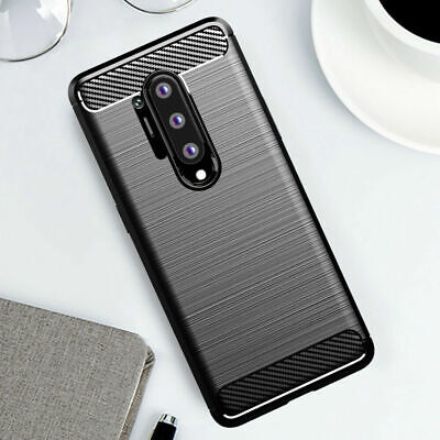 AU5.71 • Buy For OnePlus Nord N10 9 8 Pro 8T 7T Shockproof Carbon Fiber Silicone Case Cover