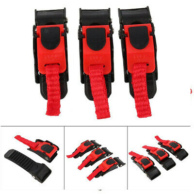 £4.99 • Buy 3 X Replacement Motorcycle Bike Helmet Quick Release Clip Chin Strap Pull Buckle