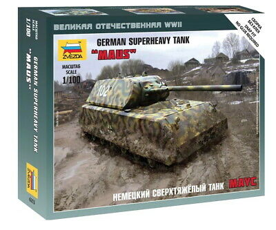 AU10 • Buy Zvezda 1/100 German Super Heavy Tank  Maus
