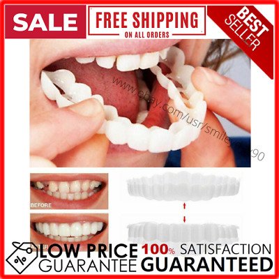 $5.75 • Buy Magic Teeth Brace 2 Pcs/set Temporary Smile Comfort Fit Cosmetic Denture Teeth