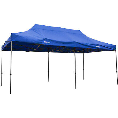 AU249 • Buy Kings Portable Camping Gazebo 6x3m Outdoor Party Tent Marquee Waterproof