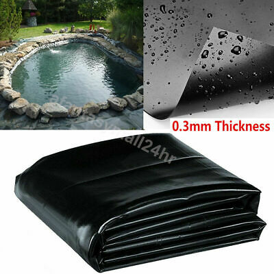 Pond Liner 40 Year Guarantee Garden Fish Pond Liners Pool Membrane Landscaping • 15.99£