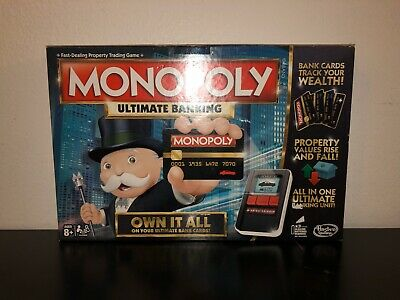 $42.19 • Buy Monopoly Ultimate Banking Board Game Hasbro Parker Bros 100% Complete EUC