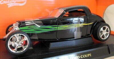 AU134.99 • Buy Lucky Diecast 1/18 Scale 92839 1933 Ford Coupe Hot Rod Black