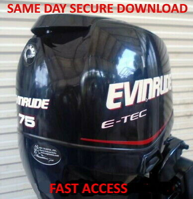 $9.87 • Buy 2011 Evinrude ETEC 200, 225, 250, 300 Outboard Service Manual - FAST ACCESS