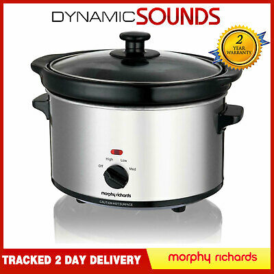 Morphy Richards 460251 2.5L 180W Oval Slow Cooker • 29.95£