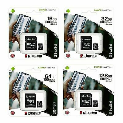 $4.25 • Buy Kingston Micro SD Memory Card 16GB 32GB 64GB 128GB Class 10 Samsung Canon Nikon