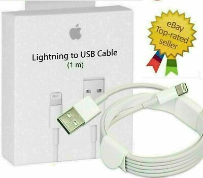 AU8.99 • Buy 1M 2M Quality Apple Lightning Charger Cable For Genuine IPhone 11 X 7 6 5 IPad