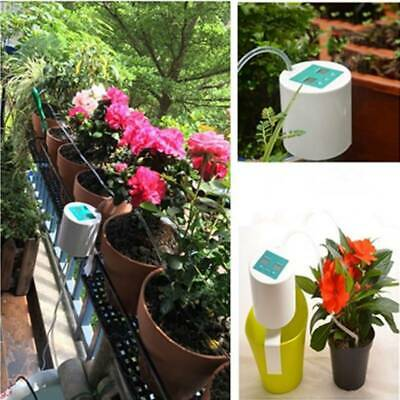 Garden Automatic Drip Irrigation Timer System Greenhouse Plant Self Watering Kit • 26.02£