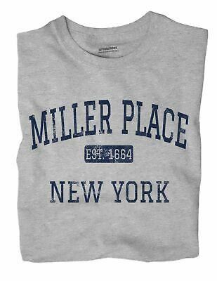 $21.49 • Buy Miller Place New York NY T-Shirt EST