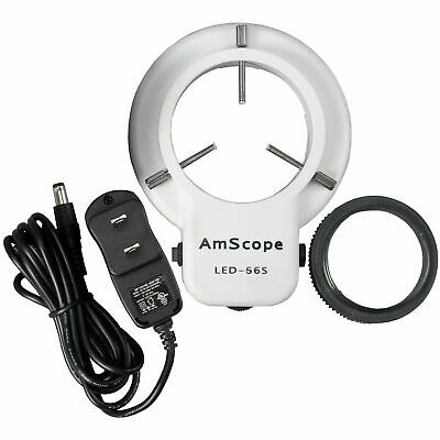 $29.75 • Buy AmScope LED Microscope Ring Light Illuminator With Dimmer