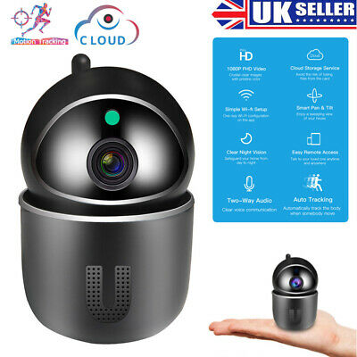 1080P WiFi IP Camera Home Security Baby Monitor Clever Dog CCTV CAM Night Vision • 19.99£