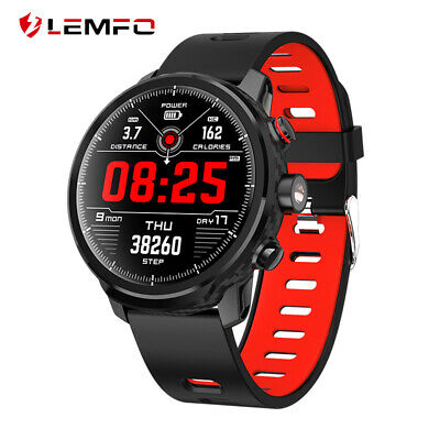 AU61.99 • Buy LEMFO L5 Smart Watch Bluetooth Heart Rate Monitor Waterproof For Android IOS