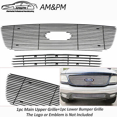 $75.59 • Buy For 1999-2003 Ford F-150 4WD Billet Premium Grille Combo Insert