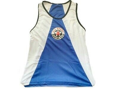 £4.99 • Buy Boxing Tanktops Vests Blue And White
