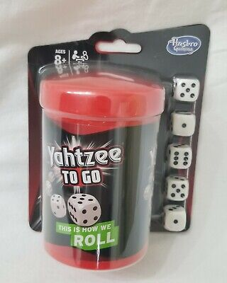 AU20.28 • Buy Yahtzee To Go Hasbro Travel Game 2014 Gaming Board Game, BRAND NEW IN PACKAGE