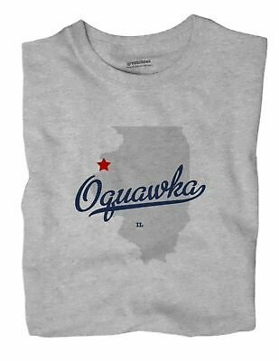$ CDN26.86 • Buy Oquawka Illinois IL T-Shirt MAP