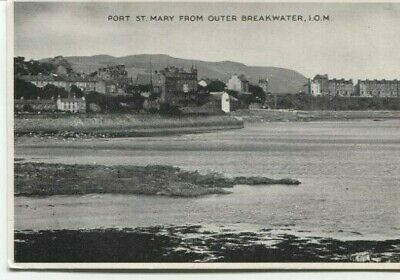 £3 • Buy Port St Mary From Outer Breakwater Isle Of Man Postcard