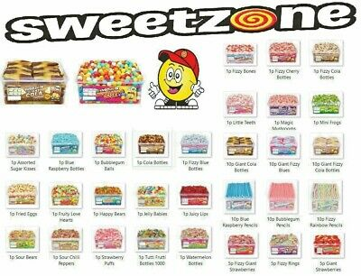 New Sweetzone 100% Halal (hmc Certified) Jelly Sweets  Tub/bags  Variety Flavour • 9.95£