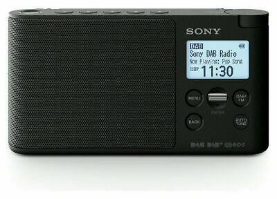 Sony XDR-S41DB DAB/DAB+/FM Radio,Battery-Mains,Ultra Compact With 10 Presets  • 39.99£