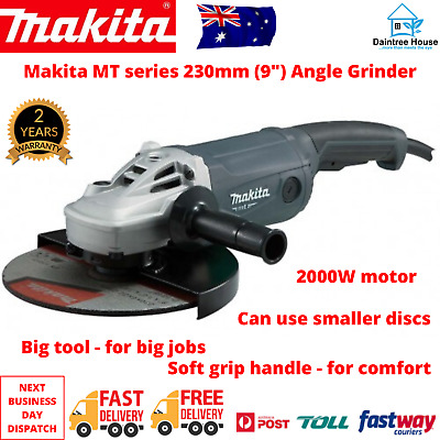 AU183.37 • Buy  Makita 9  Angle Grinder 230mm 9 Inch Powerful 2000W Cord M9001G Trigger Switch