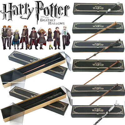 NEW Harry Potter Magic Wand Boxed Hermione Dumbledore Voldemort Cosplay Gifts  • 10.99£