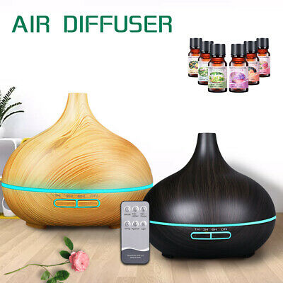 AU9.39 • Buy Aroma Diffuser Electric Ultrasonic Air Mist Humidifier Purifier 7 Colors LED AU