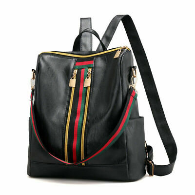 Women Backpack Handbag Rucksack Large Ladies Travel Shoulder Bags PU Leather UK • 6.89£