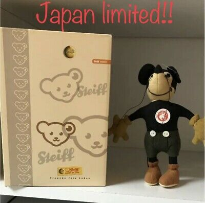 $420 • Buy Steiff Limited Mickey Mouse Plush Doll Stuffed 17cm Japan White Tag 2007 New EMS