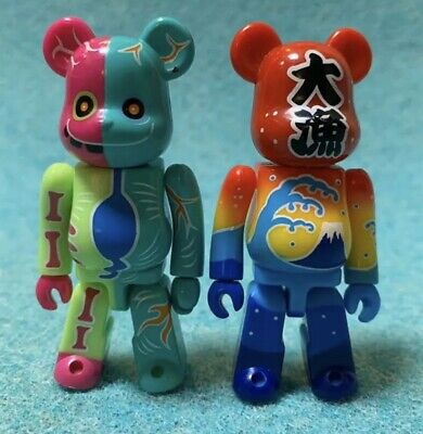 $54 • Buy Bearbrick Series 30 Set Of 2 From Japan 2015 Used