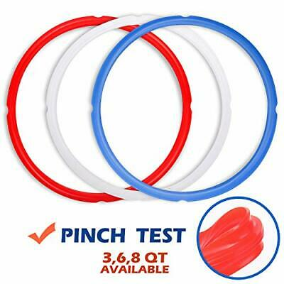 $12.11 • Buy Silicone Sealing Rings For Instant Pot Accessories Fits 5 Or 6 Quart Models
