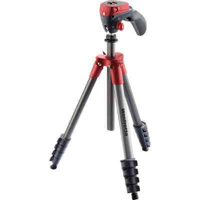 AU130 • Buy Manfrotto Compact Action Tripod - Red  -  MKCOMPACTACN-RD