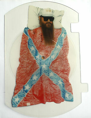 ZZ TOP STAGES Shaped VINYL Picture Pic Disc  SLEEPING BAG • 25£