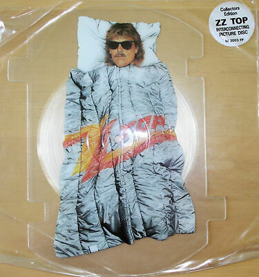 ZZ TOP ROUGH BOY Limited Edition Shaped VINYL Picture Pic Disc  • 25£