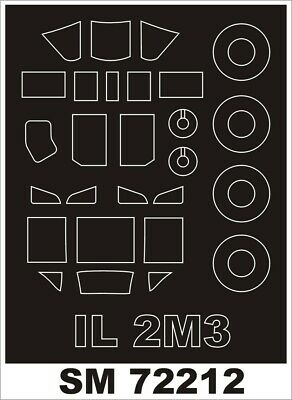 AU5.50 • Buy Montex SM72212 1/72 IL-2M3 Paint Mask For Tamiya Kit (outside)