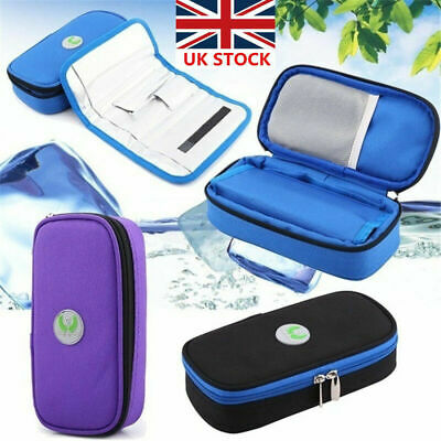 Insulin Pen Case Pouch Cooler Travel Diabetic Pocket Cooling Protector Bag Zip • 11.18£
