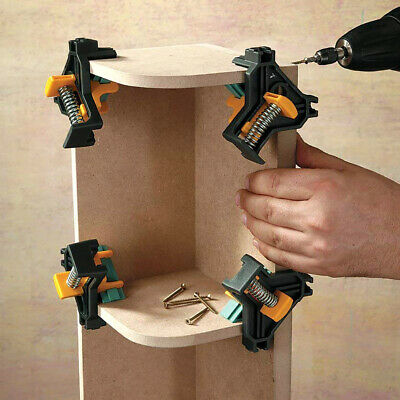 $12.45 • Buy 90 DEGREE RIGHT ANGLE CORNER CLAMP WOODWORKING WOOD For KREG JIGS CLAMPS TOOL