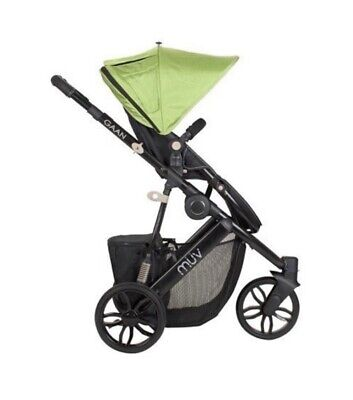 $229 • Buy MUV GAAN Stroller With Bassinet And Canopy
