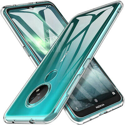 AU16.50 • Buy Case For Nokia 7.2 6.2 6.1 (2018) 5.1 Plus 7.1 8.1 SiroccoTPU Clear Bumper Soft