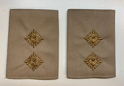 £5.99 • Buy Genuine Ex Police Inspector Epaulette Sleeve Embroidered Theatre Film Security