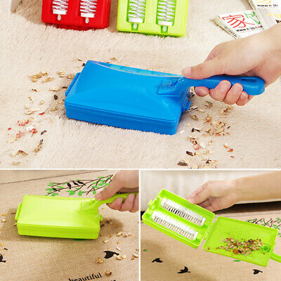 £3.35 • Buy Handheld Carpet Table Sweeper Crumb Dirt Brush Cleaner Roller I1Q0 Collecto CL