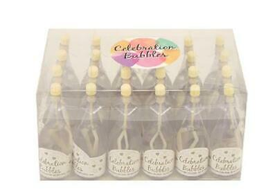 £8.99 • Buy Wedding Celebration Favors 24 Pack Of Champagne Bubbles
