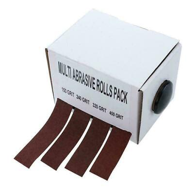 Abrasive Paper With Dispenser Drawable Emery Cloth Top Sand Roll Carpen Pap L0C0 • 10.31£