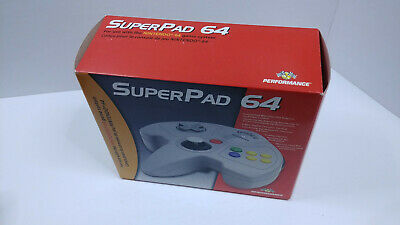 $ CDN20 • Buy 🌟N-MINT🌟 SuperPad 64 Box - N64 Third Party Controller - Box And Insert ONLY